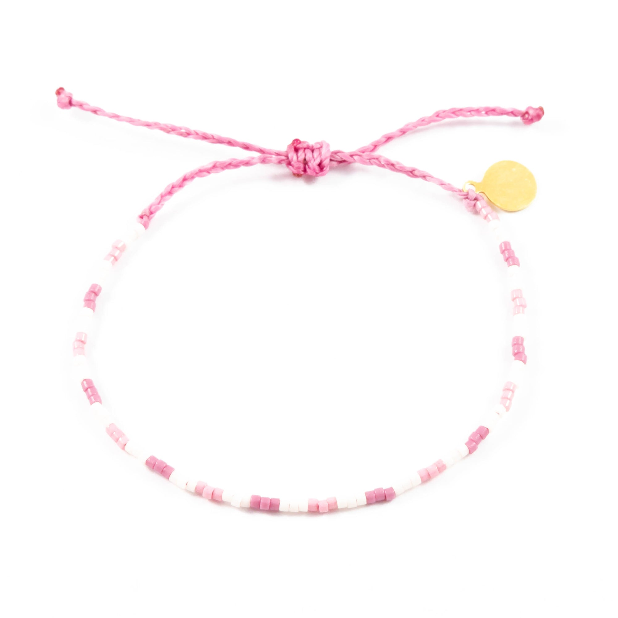 Pinks Shades of Giving Bead Bracelet