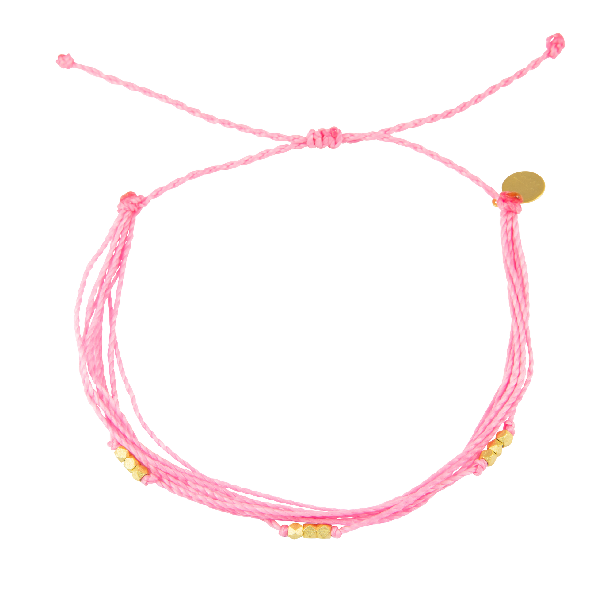Pink Macua Anklet