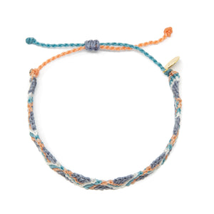 Denim Wave Friendship Bracelet