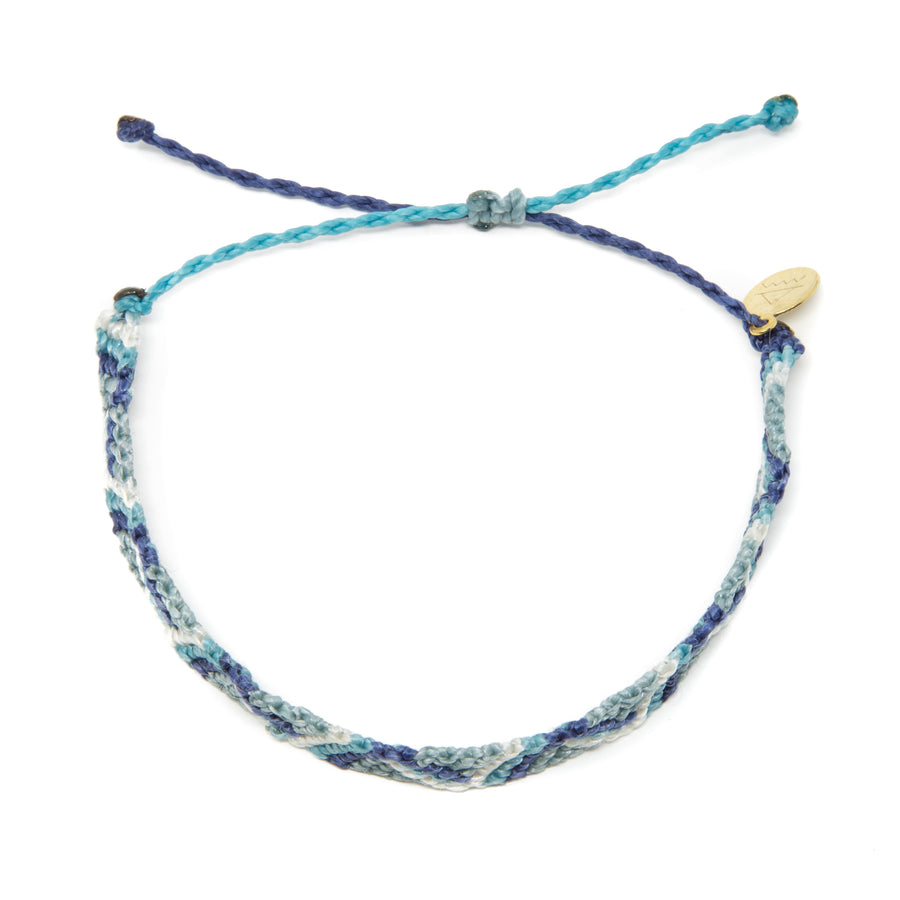 Blues Wave Friendship Bracelet