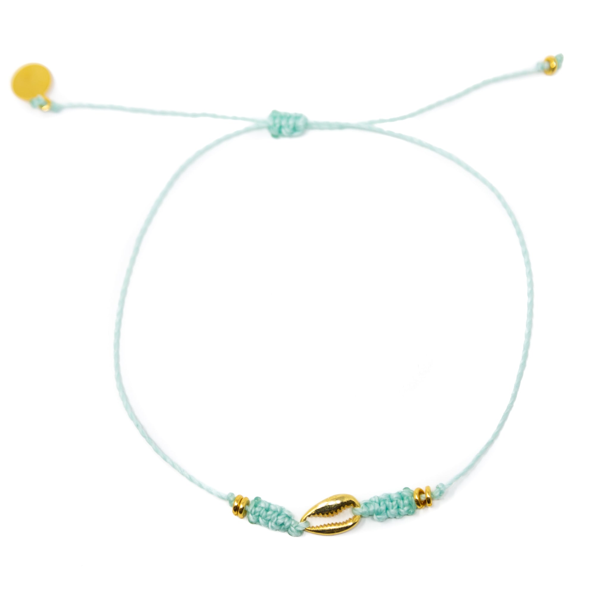 Cucumber Popoyo Anklet in Gold