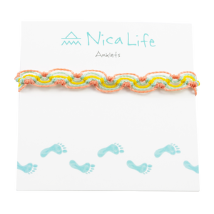 Summer Punch Nica Wave Anklet