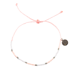 Soft Pink & Grey Bracelet Stack