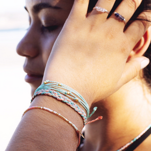 Soft Sunrise Bracelet Stack