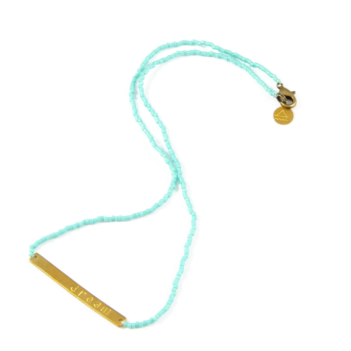 Teal DREAM Necklace