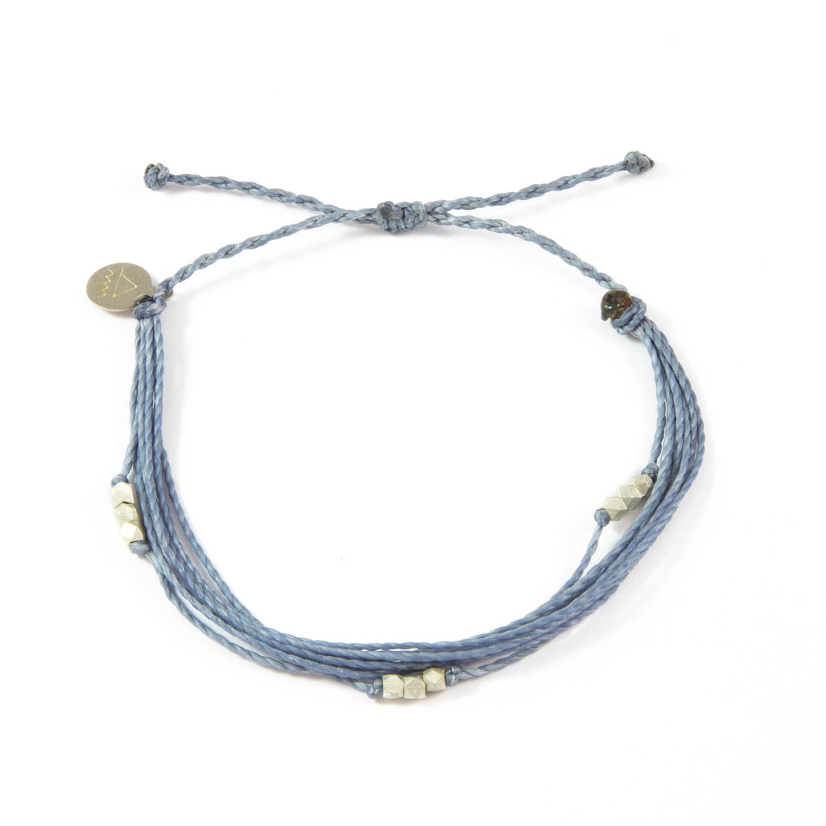 Denim Macua in Silver Bracelet