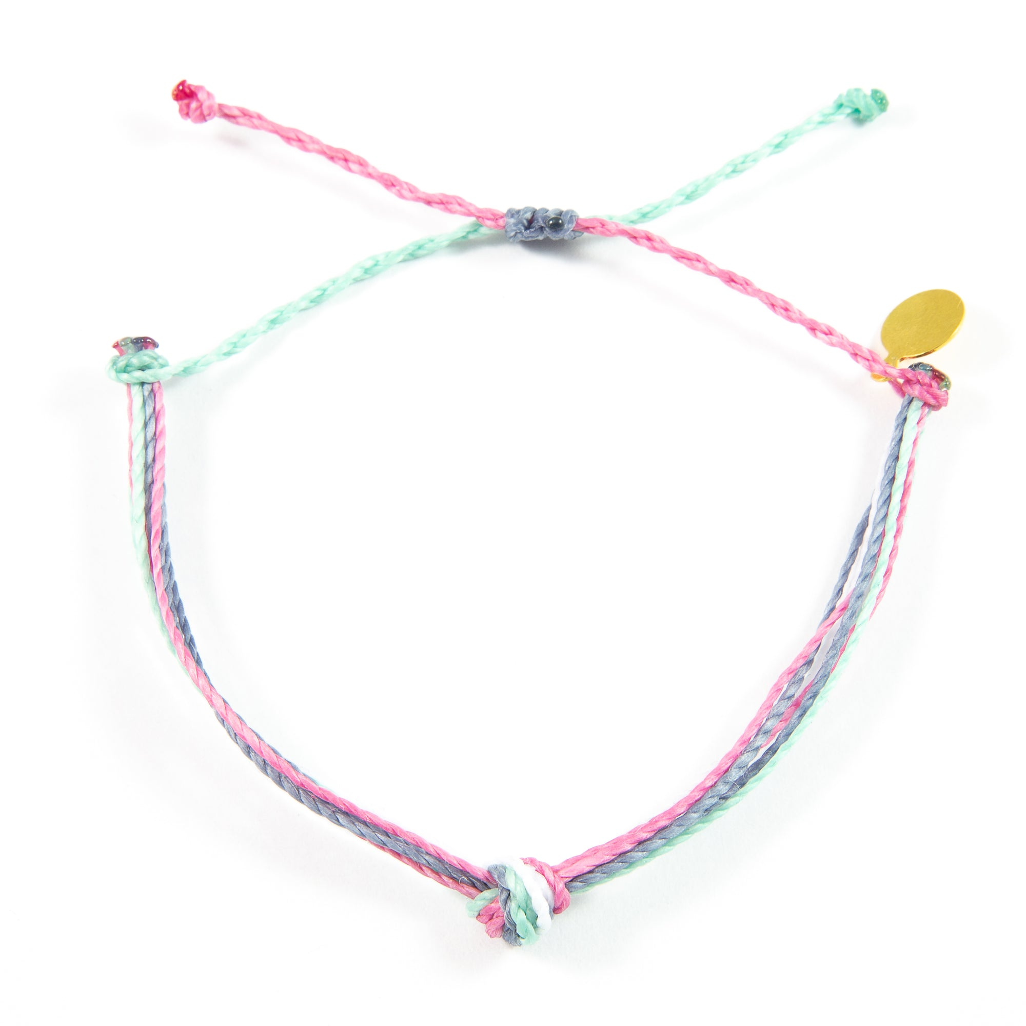 Rose Cucumber & Denim Carlos Bracelet