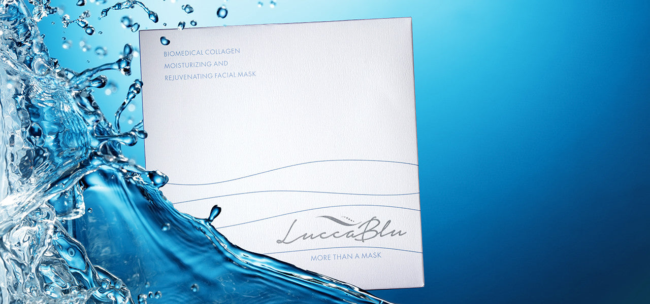 LuccaBlu Moisturizing Mask Box in Water Splash