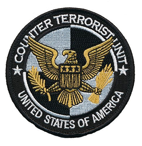 Patch Squad Men's 24s Counter Terrorist Unit USA Embroidered Patch - Patch Squad