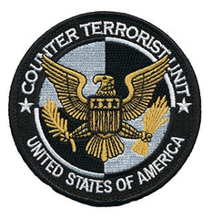Patch Squad Men's 24s Counter Terrorist Unit USA Embroidered Patch