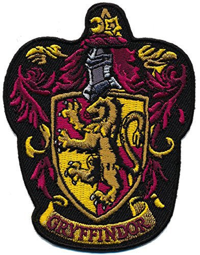 Patch Squad Men's Harry Potter GRYFFINDOR/ Ravenclan Embroidered Patch