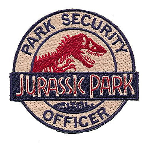 Patch Squad Men's Velcro Jurassic Park Ranger Security Officer Logo Patch