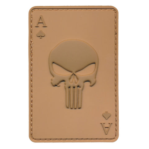 Patch Squad Men's Tactical Ace of Spade or Ace of Death Combat Morale Patch