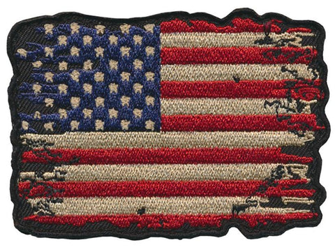 "Battle Tested ""USA"" Flag Embroidered Patch"