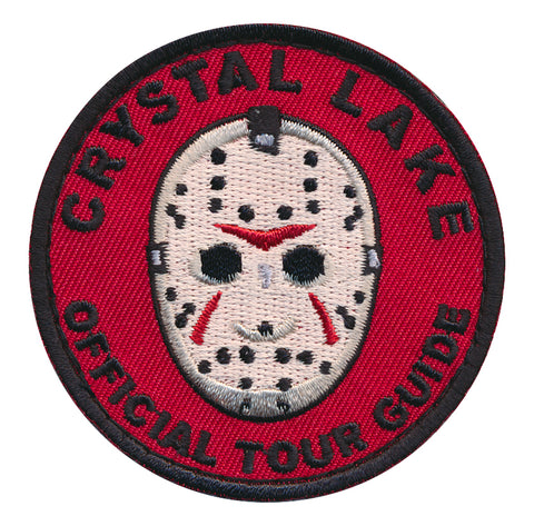 Crystal Lake Official Tour Guide Embroidered Patch