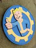 Patch Squad Men's Fallout Thumbs Up Brotherhood 3D PVC Morale Military Applique Patch