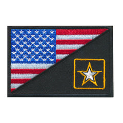 Tactical USA Flag / US Army Strong Combat Morale Military Patch