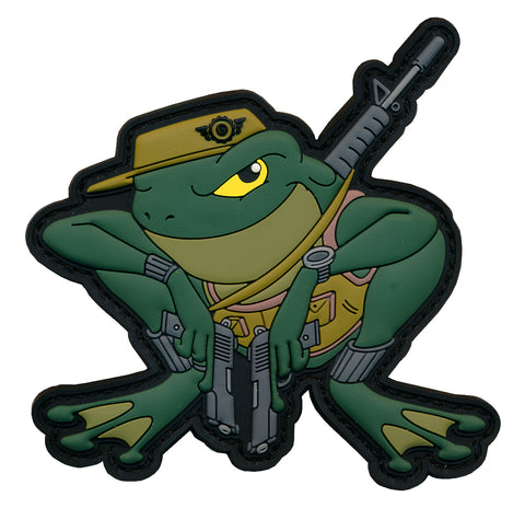 """Frogman"" Tactical 3D PVC Patch"
