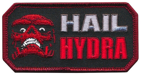 Hail Hydra Skull Embroidered Patch