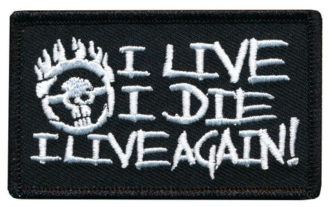Mad Max Fury I Live I Die I Live Again Embroidered Patch
