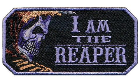 I Am The Reaper Embroidered Patch