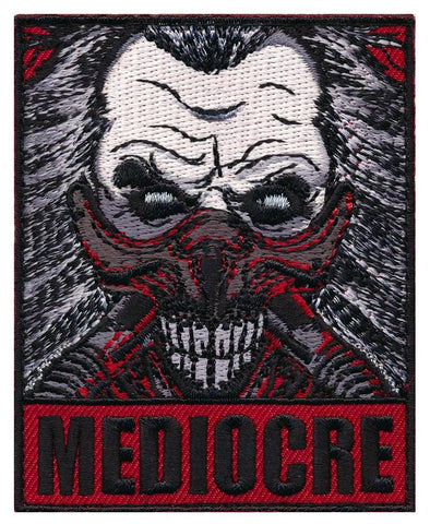 Mad Max Mediocre Immortan Joe Embroidered Patch