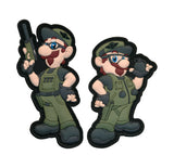 "Tactical Brothers ""MACK & LUKE"" PVC Patch Set"