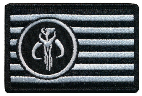 Mandalorian Flag Embroidered Patch