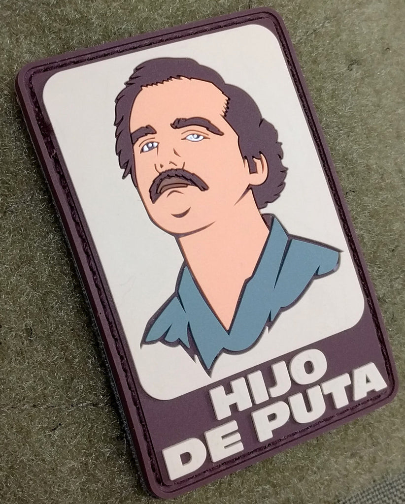 Patch Squad Men's Pablo Escobar Narcos Tactical 3D PVC Patch
