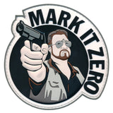 Patch Squad Men's Mark It Zero Big Lebowski PVC 3D Patch