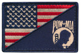 Tactical USA / POW MIA Never Forgotten Flag Embroidered Patch