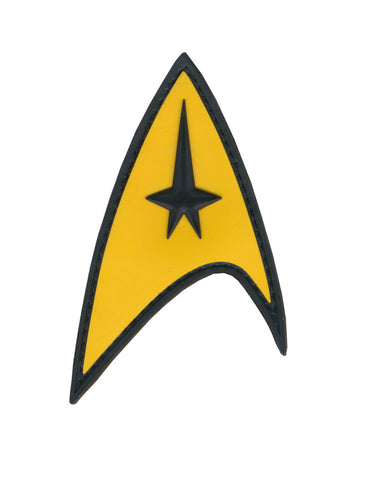 Star Trek Command Starfleet Uniform 3D PVC Patch