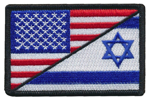 Tactical USA / Israel Flag Embroidered Patch