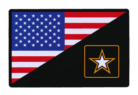 Tactical USA Flag / Army Flag Sticker Decal