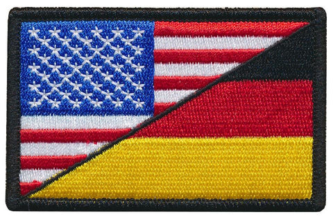 Tactical USA / Germany Flag Embroidered Patch