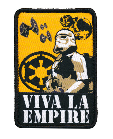 Star Wars Stormtrooper Viva La Empire Woven Patch