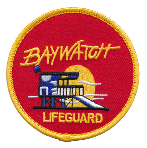 Baywatch Lifeguard Embroidered Patch