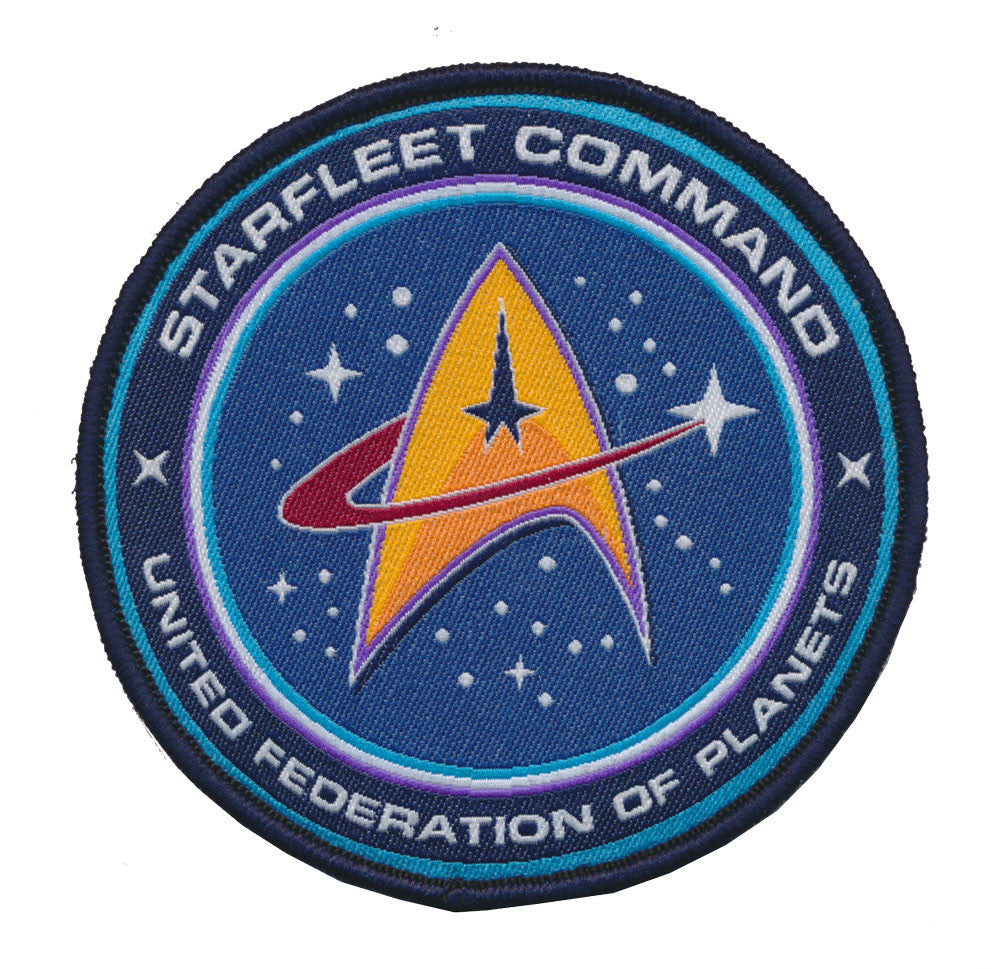 Tactical Star Trek TNG STARFLEET COMMAND United Federation of Planets Woven Patch