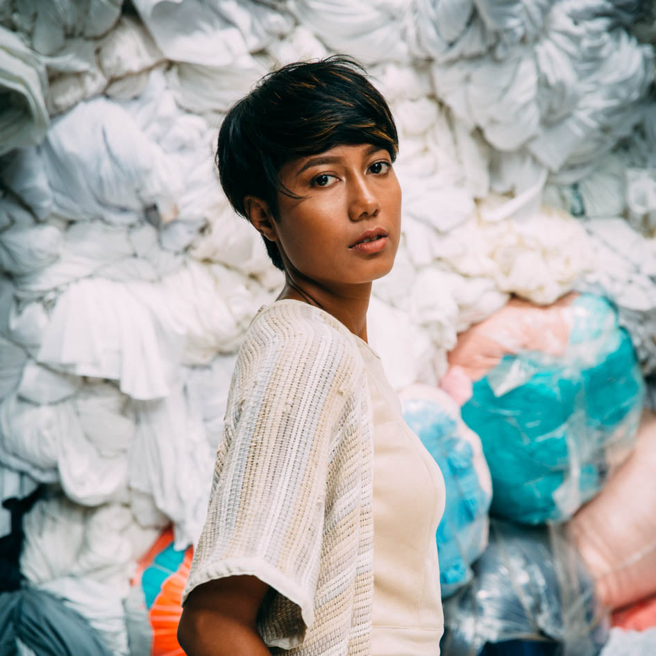 How trash becomes treasure: The origins of tonlé's zero waste garments