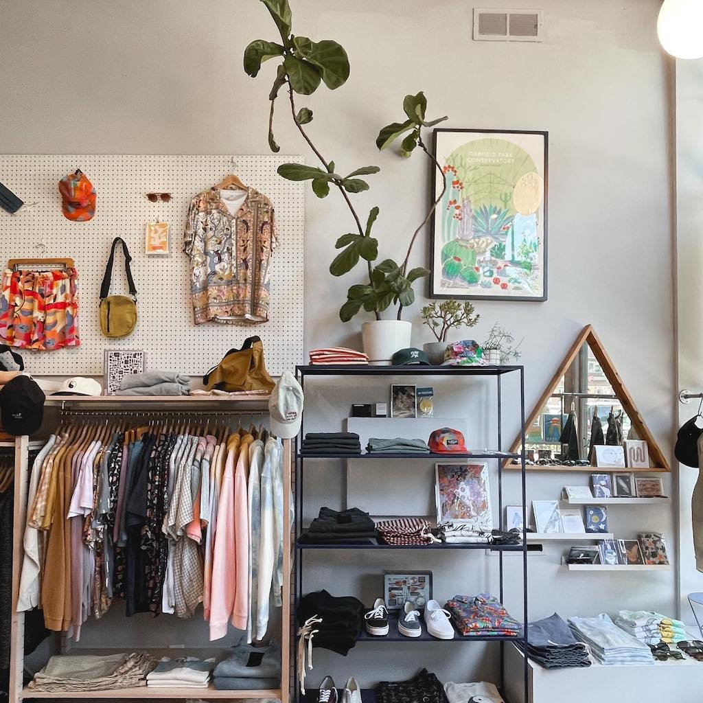 Inside view of tonlé featured retailer Penelope's in Wicker Park, Chicago