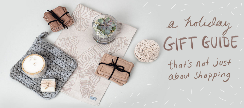 A sustainable and ethical holiday gift guide that's not just about shopping