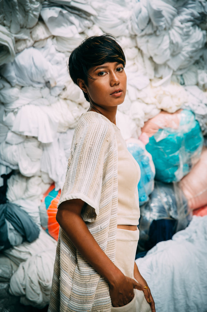 tonle - up cycled garment factory scraps turned into zero waste clothing