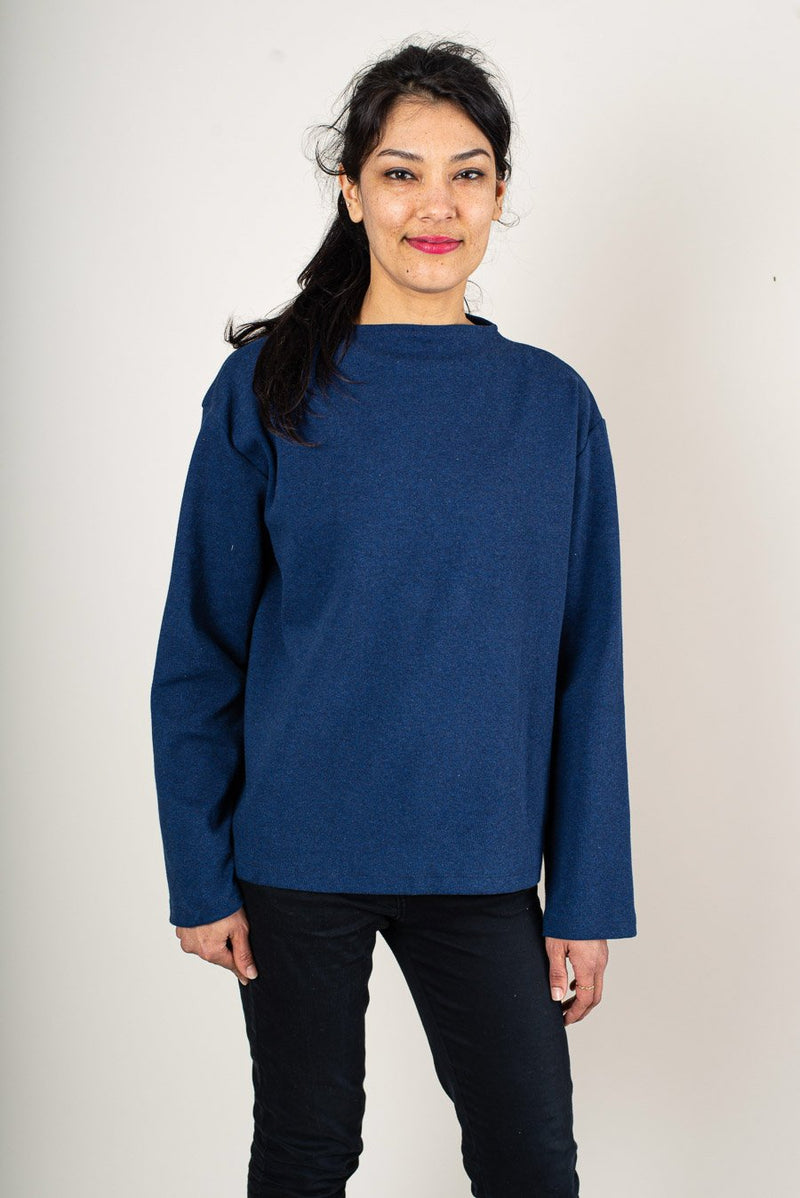 Our sustainably made Chloe sweatshirt is super cozy.