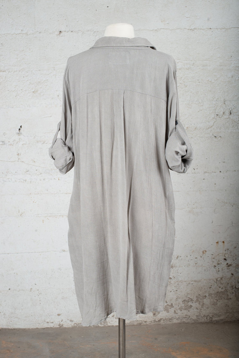 Back view of a pre-worn garment for sale on our circular fashion trade-in, consignment-like platform.