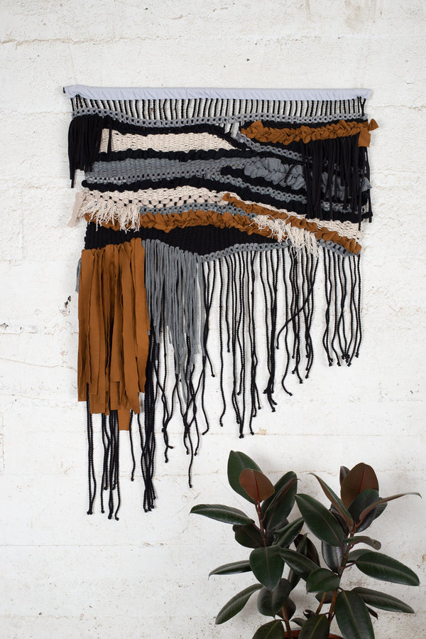 Adorn the walls in your zero waste home with this stunning wall hanging.