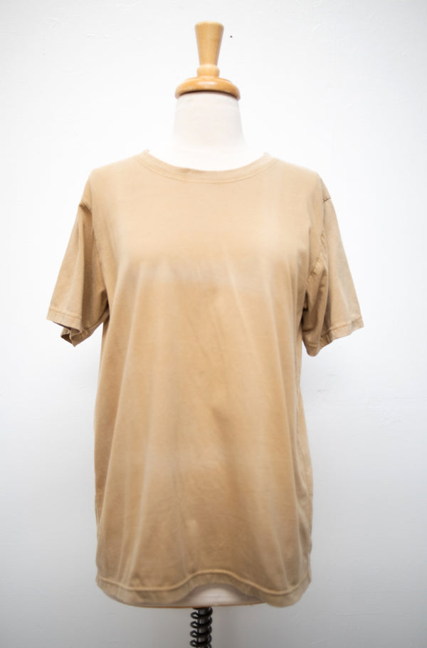 naturally dyed classic t - open closet - large - rarely worn, sample