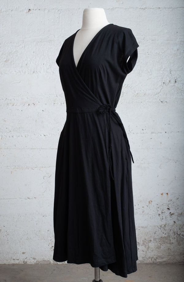 wrap dress - open closet - small - rarely worn