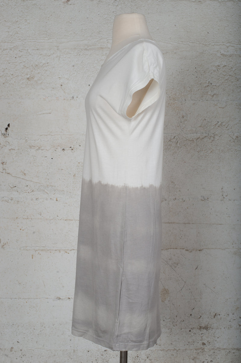 dip dyed basic t-shirt dress - open closet - x-small/small/large - rarely worn