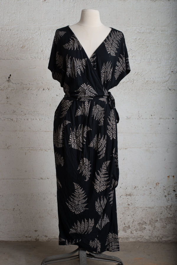 lotus dress with fern print - open closet - x-large/xx-large - rarely worn
