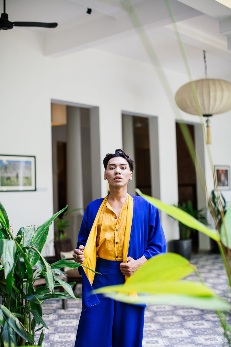 The Shelby shirt is a gender expansive style designed in collaboration with Plant Kween.